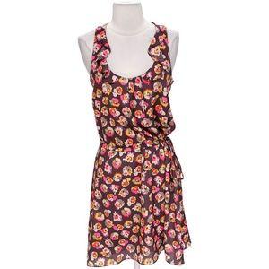 BAR III Floral A-Line Dress